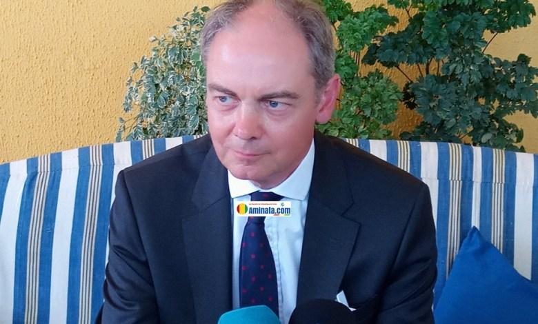 David MclLROY, nouvel ambassadeur de Royaume-uni à Conakry