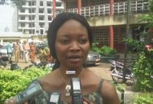 Oumou Koultoumi Conté, assistante technique à la commission électorale nationale indépendante (CENI)