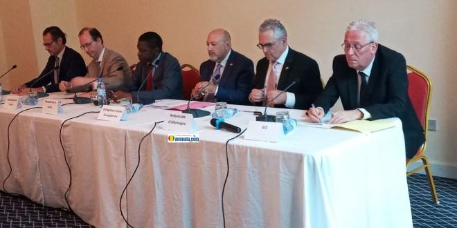Lancement officiel du nouveau Programme d'Appui au renforcement du système de Santé en Guinée dans un réceptif hôtelier de Conakry (PASA2)