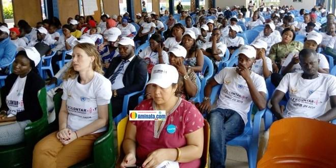 Célébration de la journée internationale des volontaires