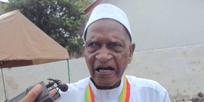 Elhadj Biro Kanté membre du Parti démocratique de Guinée PDG-RDA