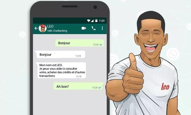 UBA Guinée lance la version whatsapp de LEO, le banquier virtuel