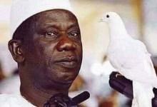 Lansana Conté, ancien Président de la République de Guinée