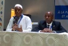 Pr Ousmane Souaré et Patrice Vahard