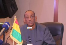 Boubacar Barry, ministre du commerce