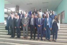 Cérémonie de lancement officiel de la première session du cadre permanent de concertation entre la presse publique et la presse privée à Conakry.