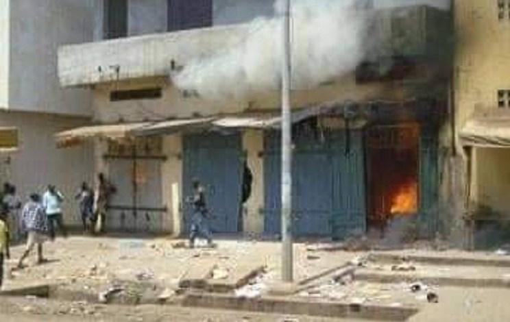 Des magasins appartenants aux partisans de l'UFDG incendiés