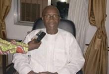 Ibrahima Bangoura, vice président de l'UFR