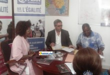 Signature d'un partenariat entre la fondation Orange Guinée et Plan Guinée international