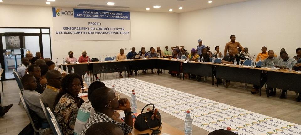 Cérémonie de lancement officiel des activités du projet de Renforcement du contrôle citoyens des élections et des processus politiques