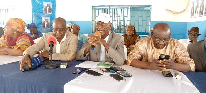 Bakary Goyo Zoumanigui lors de l'assemblée générale de l'UFR