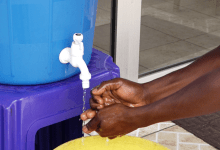 Lavage de main contre le Coronavirus