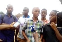Mamadou Samba Sow, porte-parole du collectif des déguerpis 2019 de Kaporo rails, Kipé2 et Dimesse