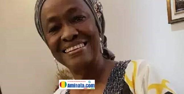 Colonelle Fatoumata Binta Diallo première femme pilote d'Afrique Noire