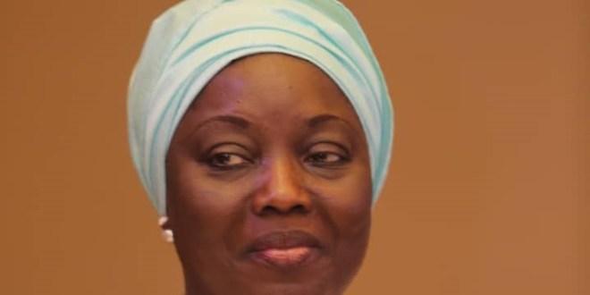 Aminata Touré, mairesse de Kaloum