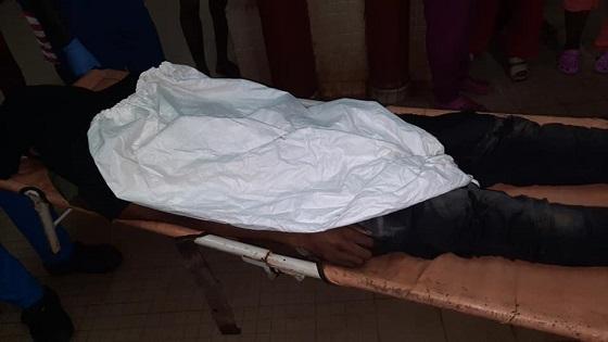 Le corps sans vie d'un étudiant en pharmacie