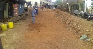 Une rue de la préfecture de Labé