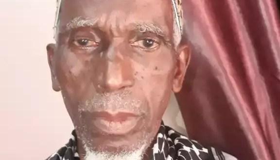 El hadj Abdoul Rahim Diallo, membre de l'association Ahloul Bayt