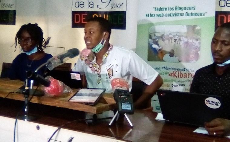 Mamadou Alpha Diallo, président de l'Association des blogueurs guinéens (ABLOGUI)