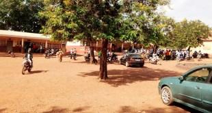 Dans une école de Siguiri qui sert de bureaux de vote