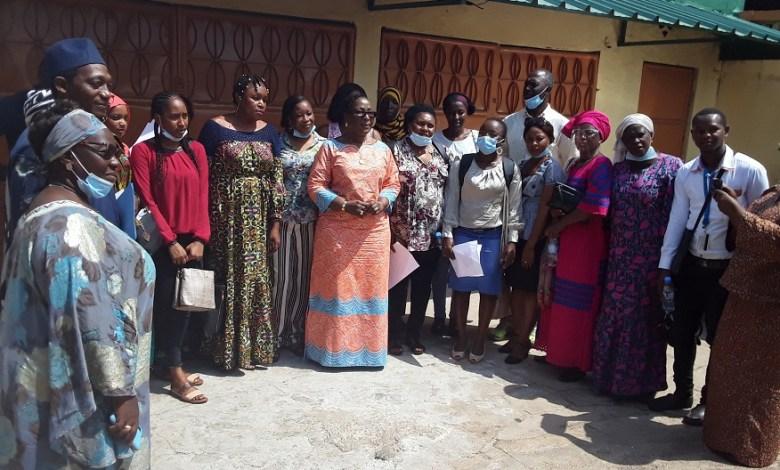Dr. Makalé Traoré au siège du parti PACT