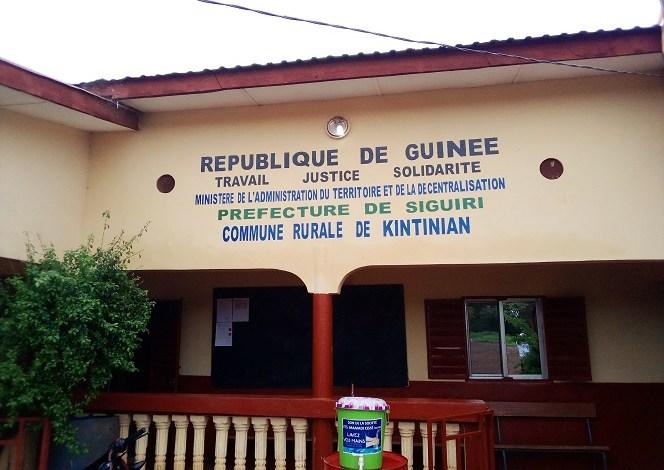 Le siège de la commune rurale de Kintinian, dans la préfecture de Siguiri