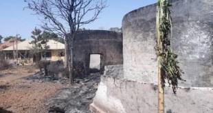 Une case incendiée à Daralabé