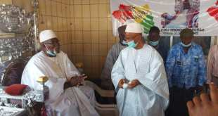 Cellou Dalein Diallo et le kountigui Sekhouna Soumah