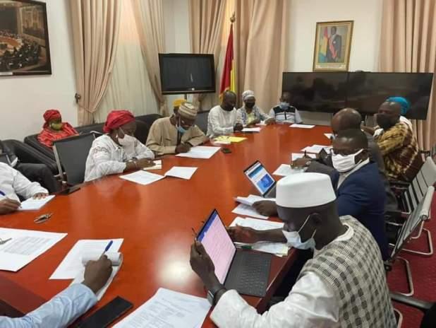 Travaux de la Commission Locale et des points focaux des Départements ministériels.