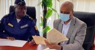 Signature du Contrat d'Objectifs 2021 au Ministère de la Sécurité et de la Protection Civile.