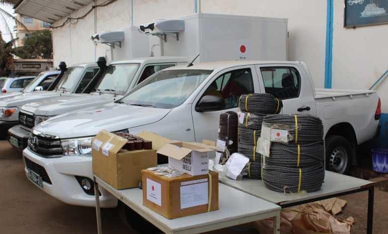 MPAEM : Remise d'équipements d'appui aux activités du Ministère des Pêches