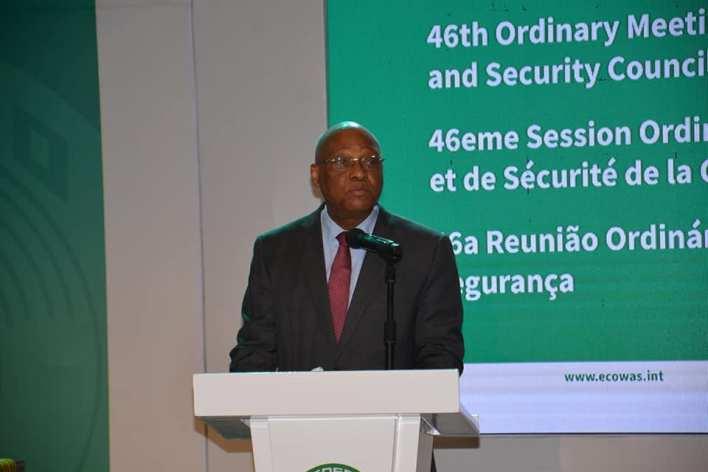 CEDEAO Ouverture le 15 juin 2021, de la quarante-sixième session ordinaire du Conseil de Médiation et de Sécurité (CMS)