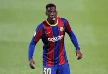 Ilaix Moriba joueur du Barça
