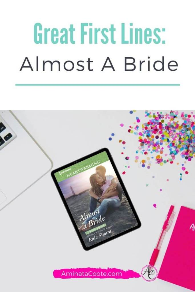 Great First Line: Almost A Bride