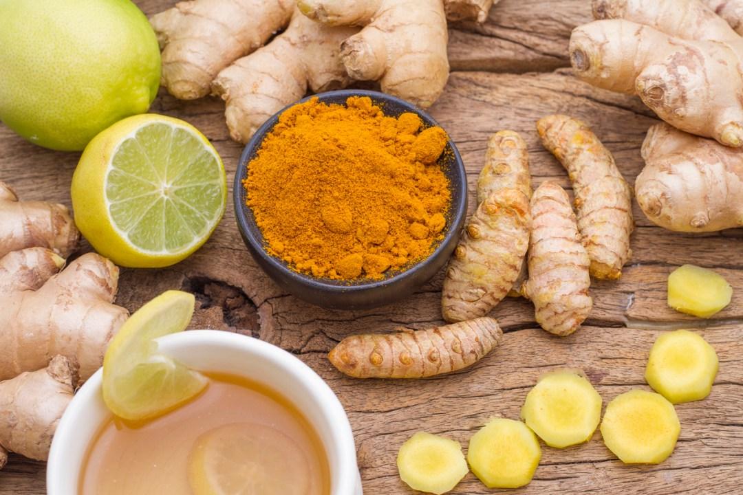 Curcuma gingembre citron