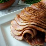 Balsamic Fig Glazed Ham