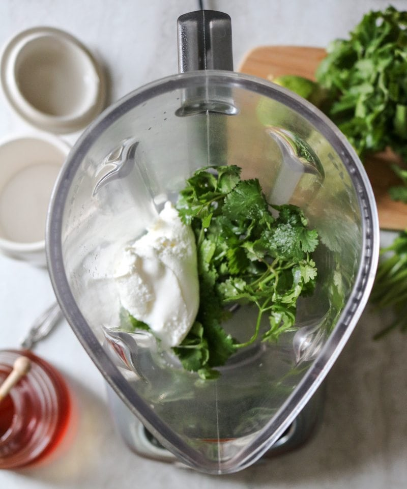Greek Yogurt Green Goddess Dressing