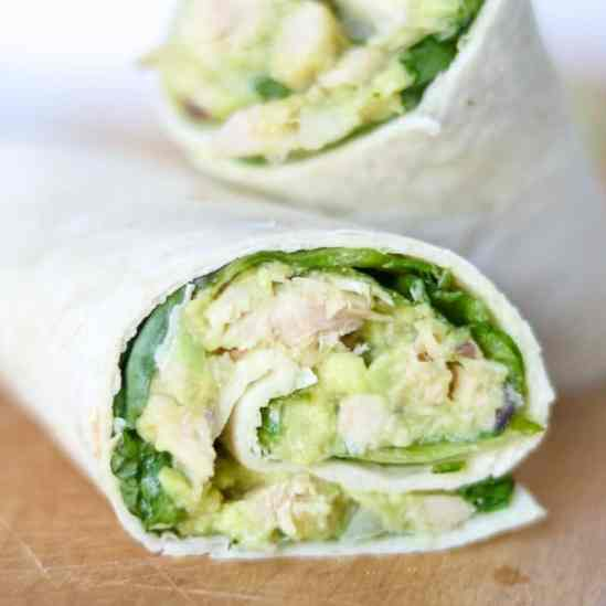 Image result for Avocado and Tuna Salad Wraps