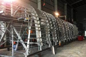 Fabricated Aluminum Hull Structure - Aluminum Welding & Fabrication