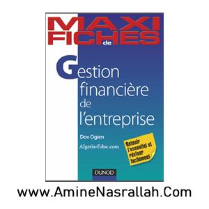 Maxi Fiches - Gestion Financière de l_Entreprise