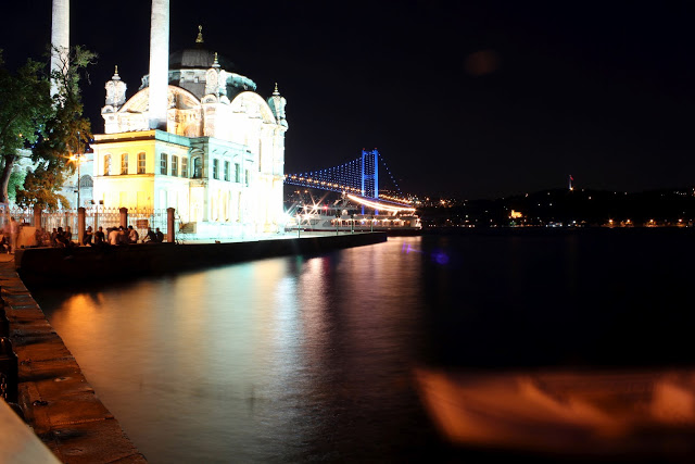 Ortaköy Mosque in Turkey. Copyright © 2010 Ahmad Bailony. All rights reserved.