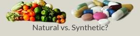 NATURAL VS SYNTHETIC VITAMINS
