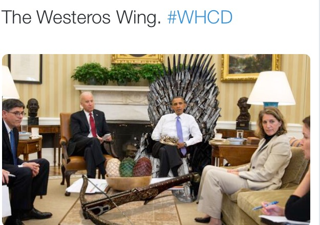 Obama- Westeros Wing