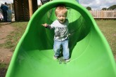 Why slide when I can walk?