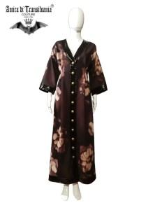 Cappotto couture stile orientale