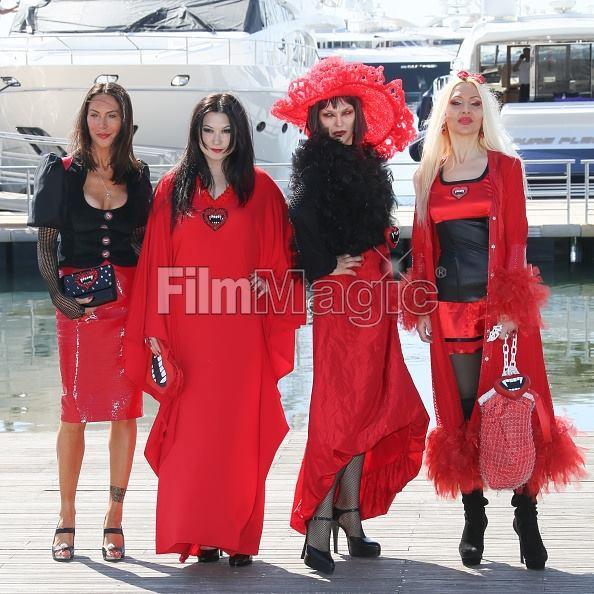 Amira Bergmann, Xena Zupanic, Violetta Smikalina, Uthe Bacher , actress by 4SuckerS film in Cannes