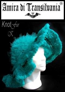 cappello turchese
