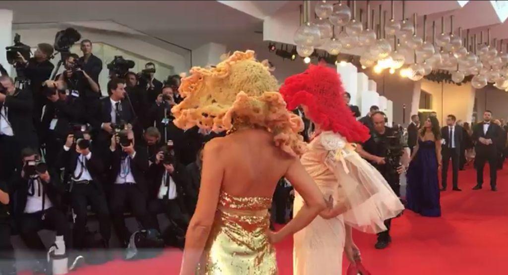 Red carpet , mostra internazionale d'arte cinematografica Biennale di Venezia