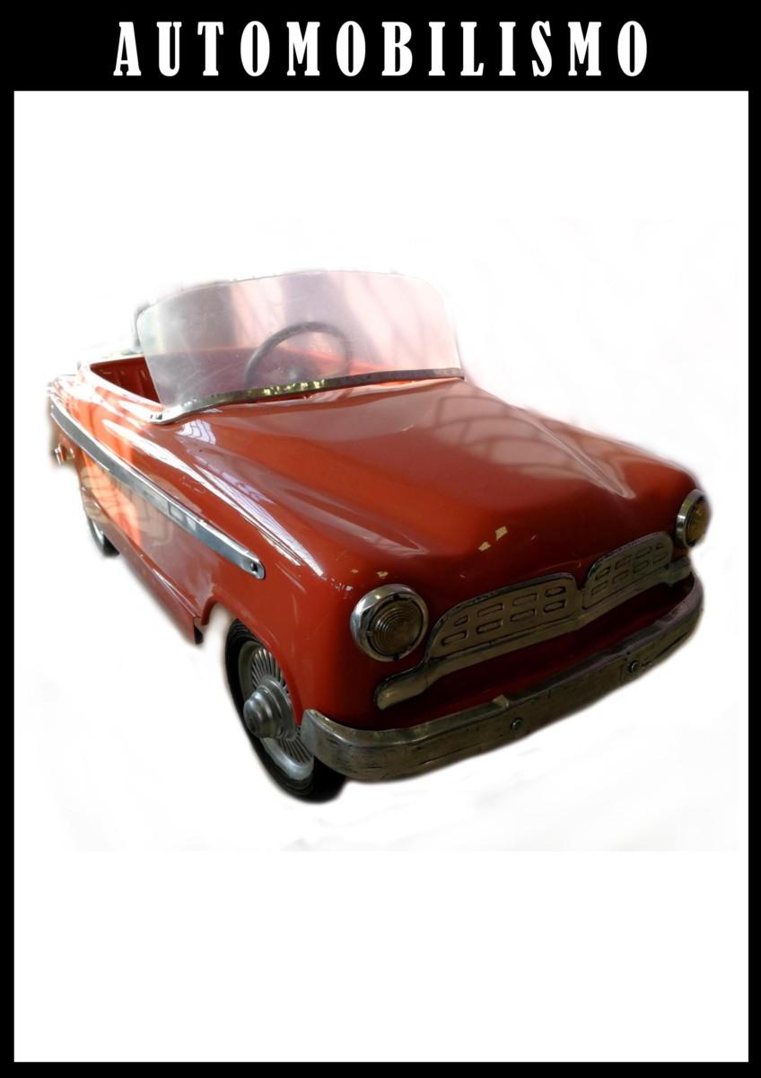 macchina vintage anni 50 per bambini