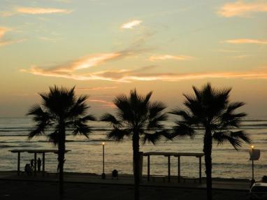 Sunset in Barranco